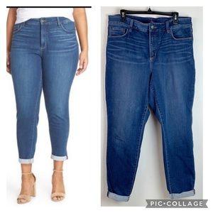NYDJ Annebelle skinny slimming boyfriend jeans EUC